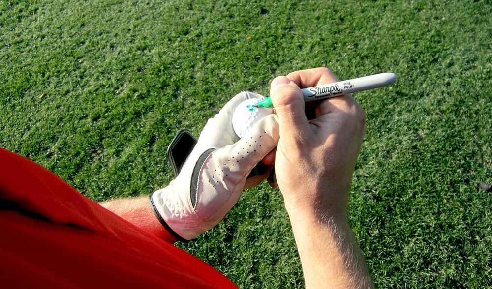 ball marking