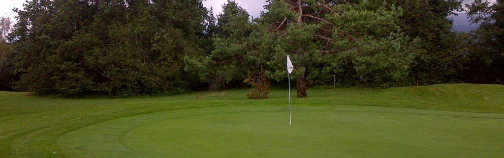 Golf course - green