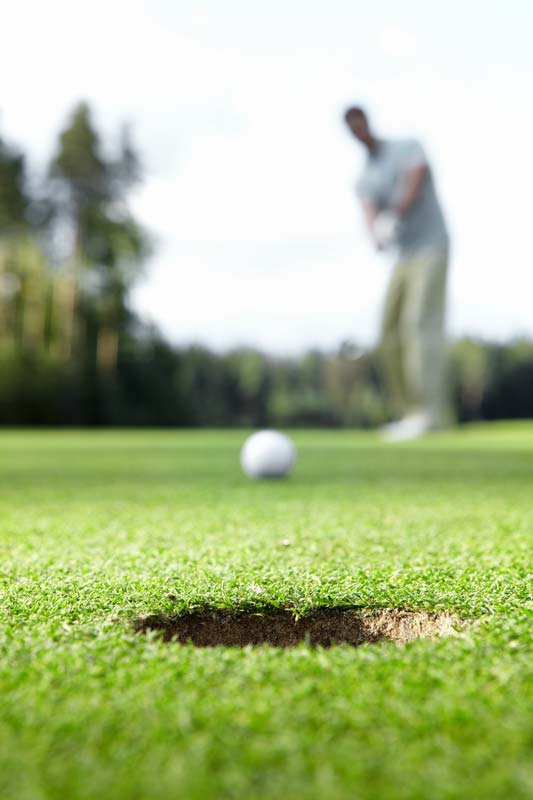 Focus on your golf game