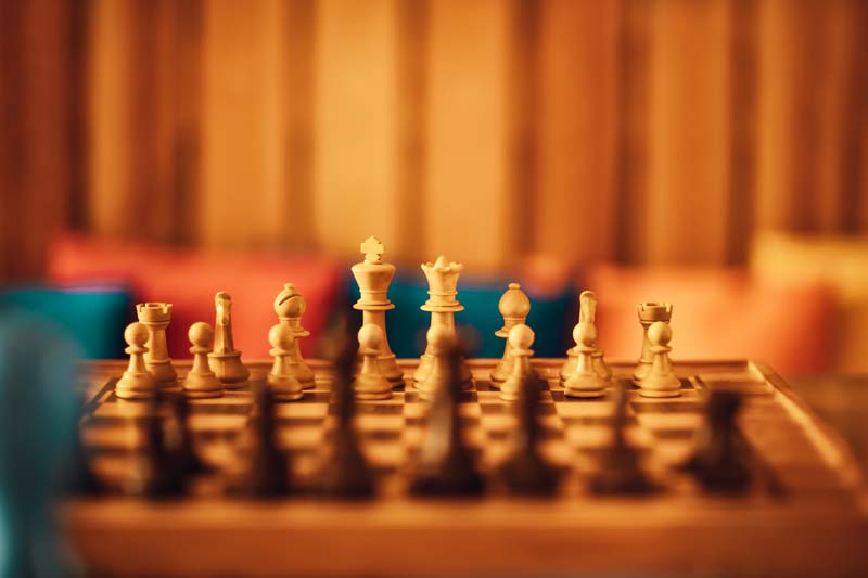 Next move is the only move - same with chess and golf