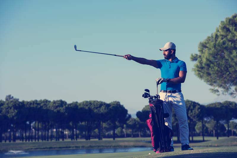Remoce blunders from your golf game, the same as with Chess